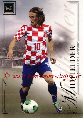 2014 - Futera World Football Unique - N° 049 - Luka MODRIC (Midfielder)