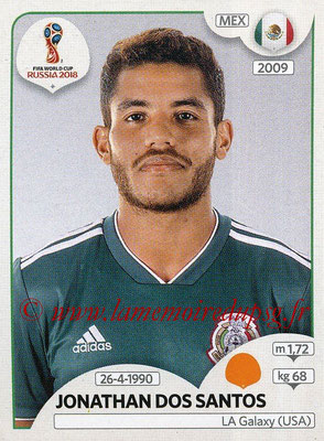 2018 - Panini FIFA World Cup Russia Stickers - N° 461 - Jonathan DOS SANTOS (Mexique)