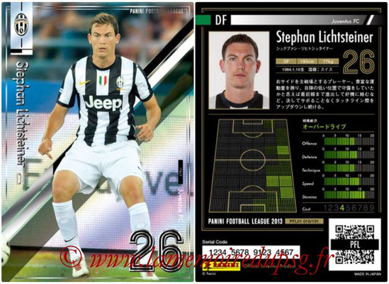Panini Football League 2013 - PFL01 - N° 016 - Stephan Lichtsteiner ( Juventus FC )