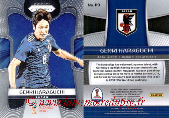 2018 - Panini Prizm FIFA World Cup Russia - N° 119 - Genki HARAGUCHI (Japon)