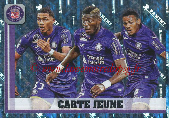 2018-19 - Panini Ligue 1 Stickers - N° 500 - Carte Jeune (Toulouse)