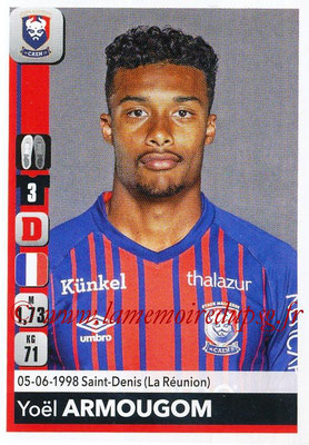 2018-19 - Panini Ligue 1 Stickers - N° 078 - Yoel ARMOUGOM (Caen)