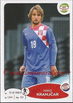 2014 - Panini Road to FIFA World Cup Brazil Stickers - N° 290 - Niko KRANJCAR (Croatie)