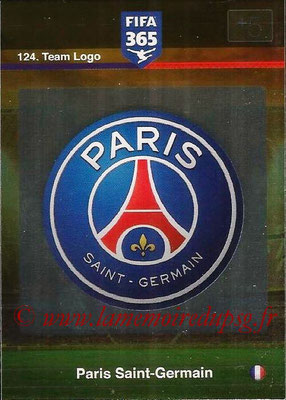 2015-16 - Panini Adrenalyn XL FIFA 365 - N° 124 - Ecusson Paris Saint-Germain (Team Logo)