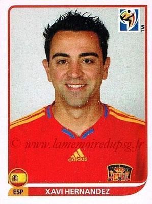 2010 - Panini FIFA World Cup South Africa Stickers - N° 573 - Xavi HERNANDEZ (Espagne)