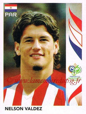 2006 - Panini FIFA World Cup Germany Stickers - N° 130 - Nelson VALDEZ (Paraguay)