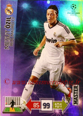 2012-13 - Adrenalyn XL champions League N° 343 - Mesut ÖZIL (Real Madrid CF) (Master)