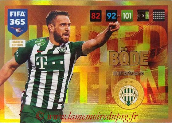 2016-17 - Panini Adrenalyn XL FIFA 365 - N° LE33 - Dániel BÖDE (Ferencvarosi TC) (Limited Edition)