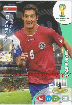 2014 - Panini FIFA World Cup Brazil Adrenalyn XL - N° 092 - Celso BORGES (Costa Rica) (Star Player)
