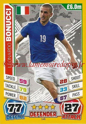 Topps Match Attax England 2014 - N° 146 - Leonardo BONUCCI (Italie)