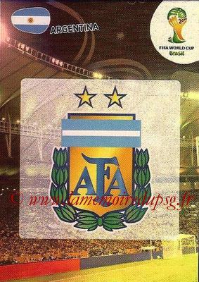 2014 - Panini FIFA World Cup Brazil Adrenalyn XL - N° 007 - Logo Argentine