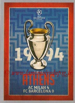 2015-16 - Topps UEFA Champions League Stickers - N° 586 - UEFA Champions League Final 1993-94