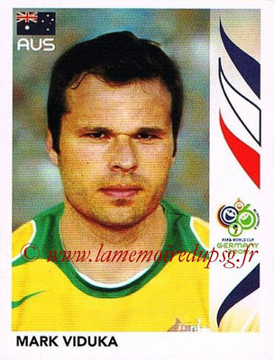 2006 - Panini FIFA World Cup Germany Stickers - N° 433 - Mark VIDUKA (Australie)