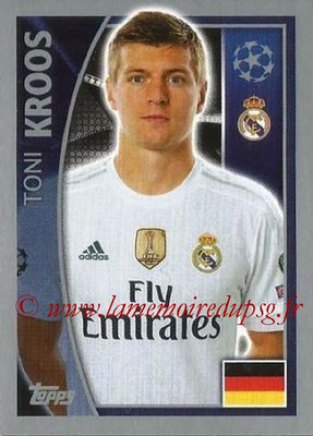 2015-16 - Topps UEFA Champions League Stickers - N° 039 - Toni KROOS (Real Madrid CF)