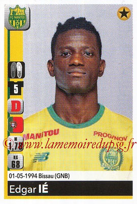 2018-19 - Panini Ligue 1 Stickers - N° T27 - Edgar IE (Nantes) (Transfert)