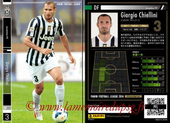 Panini Football League 2014 - PFL06 - N° 008 - Giorgio CHIELLINI (Juventus FC)