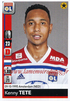 2018-19 - Panini Ligue 1 Stickers - N° 185 - Kenny TETE (Lyon)