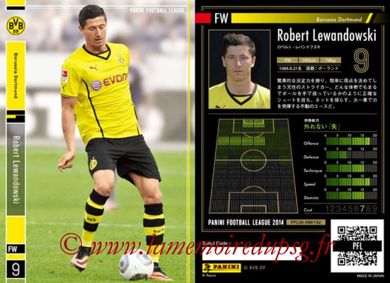 Panini Football League 2014 - PFL06 - N° 098 - Robert LEWANDOWSKI (Borussia Dortmund)