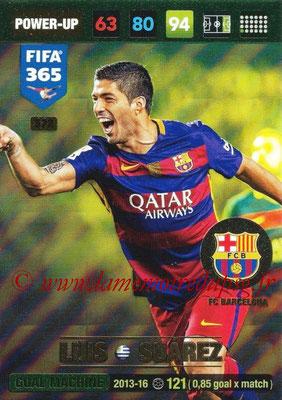 2016-17 - Panini Adrenalyn XL FIFA 365 - N° 372 - Luis SUAREZ (FC Barcelone) (Goal Machine)