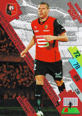 N° 251 - SRFC-13 - Sylvain ARMAND (2004-13, PSG > 2014-15, Rennes) (Defensive Rock)