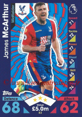 2016-17 - Topps Match Attax Premier League - N° 082