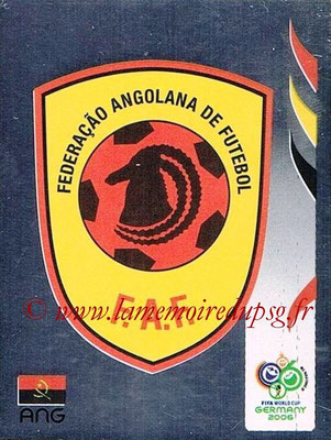 2006 - Panini FIFA World Cup Germany Stickers - N° 301 - Logo Angola