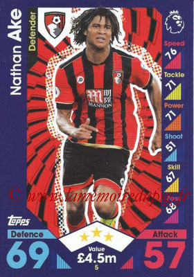 2016-17 - Topps Match Attax Premier League - N° 005