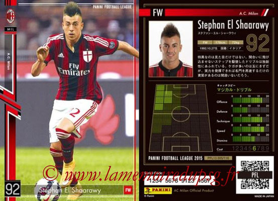 Panini Football League 2015 - PFL13 - N° 005 - Stephan EL SHAARAWY (Milan AC)