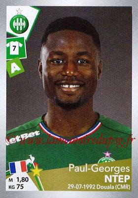 2017-18 - Panini Ligue 1 Stickers - N° T34 - Paul-Georges NTEP (Saint-Etienne) (Transfert)