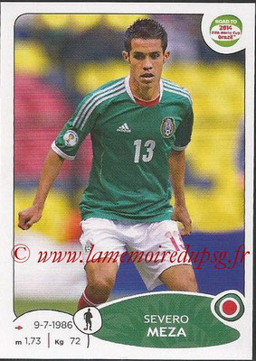 2014 - Panini Road to FIFA World Cup Brazil Stickers - N° 244 - Severo MEZA (Mexique)