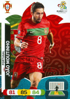 Panini Euro 2012 Cards Adrenalyn XL - N° 173 - Joao MOUTINHO (Portugal)