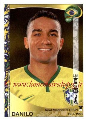 Panini Copa America Centenario USA 2016 Stickers - N° 121 - DANILO (Brésil)