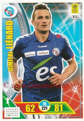 2017-18 - Panini Adrenalyn XL Ligue 1 - N° 315 - Dimitri LIENARD (Strasbourg)