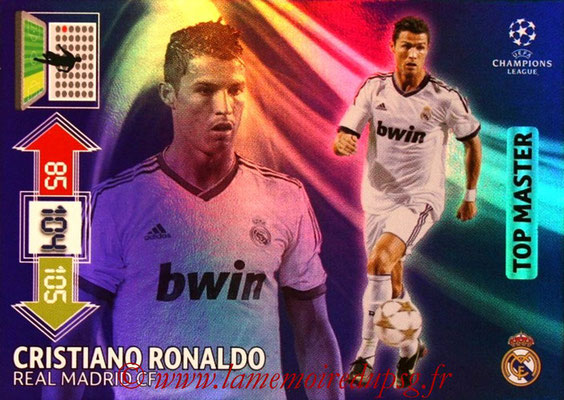 2012-13 - Adrenalyn XL champions League N° 350 - Cristiano RONALDO (Real Madrid) (Top Master)