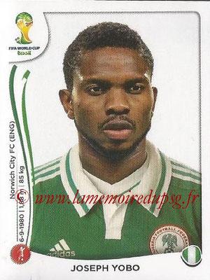 2014 - Panini FIFA World Cup Brazil Stickers - N° 472 - Joseph YOBO (Nigéria)