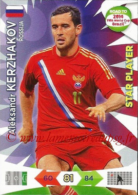 2014 - Panini Road to FIFA World Cup Brazil Adrenalyn XL - N° 164 - Aleksandr KERZHAKOV (Russie) (Star Player)
