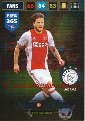2016-17 - Panini Adrenalyn XL FIFA 365 - N° 073 - Lasse SCHÖNE (AFC Ajax) (Fans' Favourite)