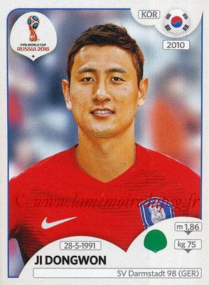 2018 - Panini FIFA World Cup Russia Stickers - N° 509 - Ji DONGWON (Corée du Sud)