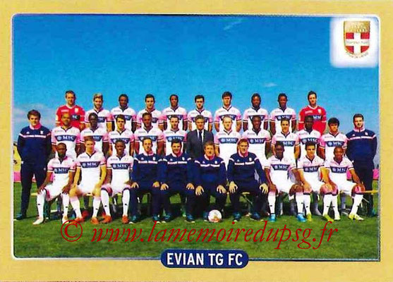 2015-16 - Panini Ligue 1 Stickers - N° 496 - Equipe Evian TG
