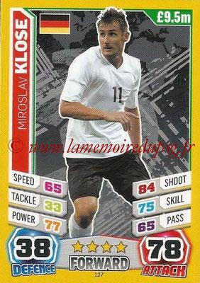 Topps Match Attax England 2014 - N° 127 - Miroslav KLOSE (Allemagne)