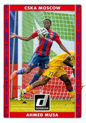 2015 - Panini Donruss Soccer - N° FF13 - Ahmed MUSA (CSKA Moscou) (Fantastic Finishers)