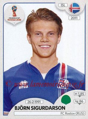 2018 - Panini FIFA World Cup Russia Stickers - N° 311 - Bjorn SIGURDARSON (Islande)