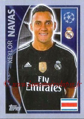 2015-16 - Topps UEFA Champions League Stickers - N° 033 - Keylor NAVAS (Real Madrid CF)