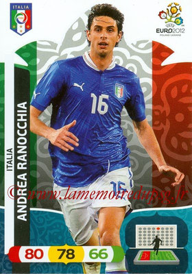 Panini Euro 2012 Cards Adrenalyn XL - N° 116 - Andrea RANOCCHIA (Italie)