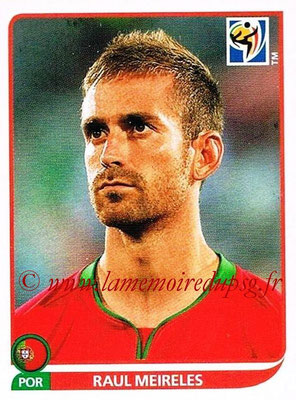 2010 - Panini FIFA World Cup South Africa Stickers - N° 553 - Raul MEIRELES (Portugal)