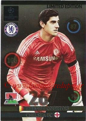 2014-15 - Adrenalyn XL champions League N° LE-TC - Thibault COURTOIS (Chelsea FC) (Limited Edition)