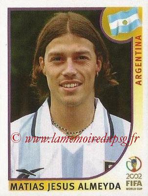 2002 - Panini FIFA World Cup Stickers - N° 394 - Matias Jesus ALMEYDA (Argentine)
