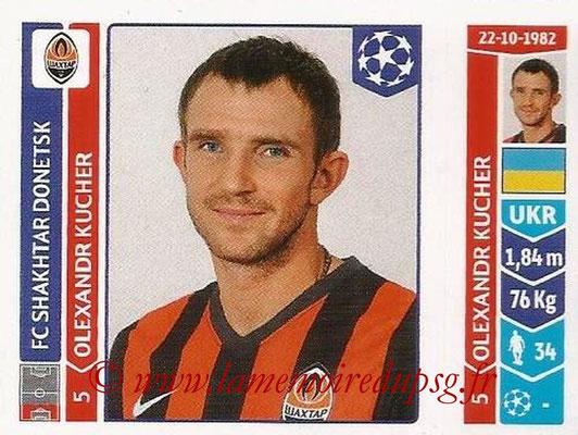 2014-15 - Panini Champions League N° 581 - Oleksandr KUCHER (FC Shakhtar Donetsk)
