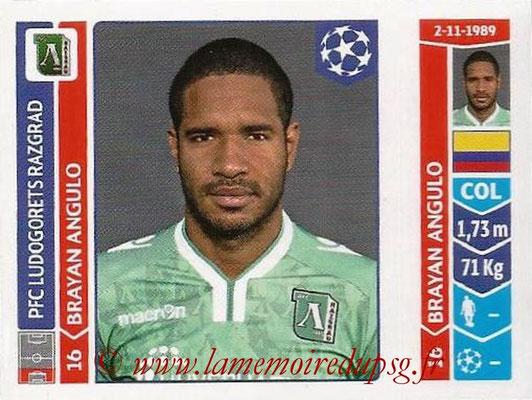 2014-15 - Panini Champions League N° 176 - Brayan ANGULO (Ludogorets Razgrad)