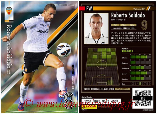 Panini Football League 2013 - PFL01 - N° 077 - Roberto Soldado ( Valencia CF )